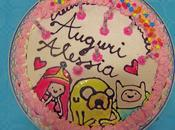 Muffin torta compleanno adventure time