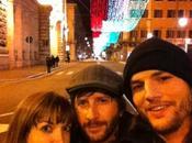 Ashton Kutcher passa vacanze Italia… Precisamente Roma!