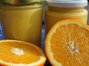 Orange curd crostata