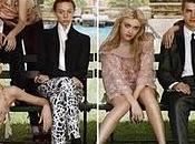 September 2010 American Vogue Editorial with Eliza Cummings, Jourdan Dunn, Mirte Maas, Daria Strokous Steven Meisel