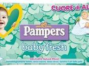 Salviettine umidificate pampers baby fresh