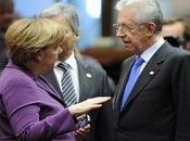 Mario Monti oggi Gennaio Angela Merkel, compito facile