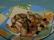 Straccetti pollo sapori dell'orto