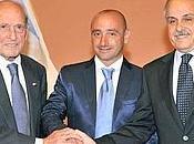 Presentazione Liquigas 2012: Rocco, Bettini linea verde-blu