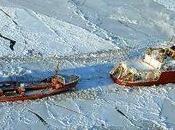 spedizione petroliera russa rompighiaccio americano verso l'isolata base Nome,in Alaska Post