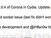 """[Aggiornato] Saurik aggiorna """"Corona"""" alla versione 1.0.4 risolvendo alcuni bugs iBooks"""