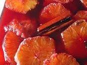 Arance vino speziato