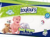 Salviettine detergenti toujours comfort della lidl
