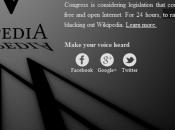 """Wikipedia contro SOPA, """"Immaginate mondo senza libera conoscenza"""""""