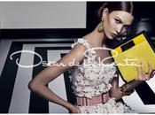 Karlie Kloss Oscar Rente SS12 Campaign