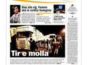 prime pagine quotidiani italiani gennaio 2012