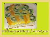 torta kiwi pesche sciroppate