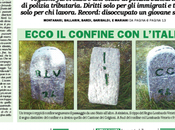 "prima pagina Padania"" oggi: hanno scoperto ""ceppi padani""!"