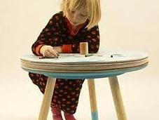 "Tavolino ""Come Draw"" Tian Tang design"