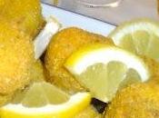 Polpettine croccanti alla farina mais aroma limone