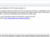 Apple aggiorna Firmware MacBook 2010, iMac.