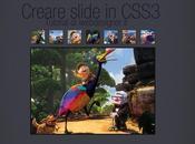 Creare slideshow CSS3 semplice elegante