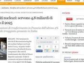 Sogin, Giuseppe Nucci: Bonifica siti nucleari, servono miliardi euro entro 2025 (Corriere.it)