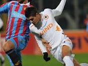 Catania Roma partita minuti