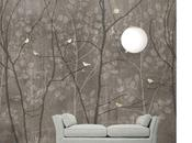 Patterns forme naturali pannelli decorativi l'interior design scandinavian surface
