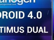 Optimus Dual: CyanmogenMod Beta disponibile