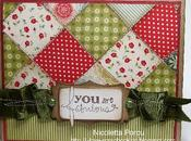 Fabulous patchwork card Nicoletta