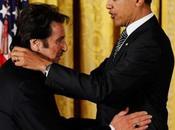 Pacino Sarah Jessica Parker premiati Obama