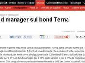 Cattaneo Flavio: fund manager bond Terna