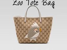 News closet Gucci Tote Bag: ironia primavera 2012.