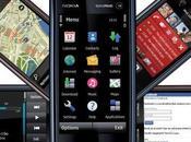 Nokia 5800 Xpress Music primo touchscreen