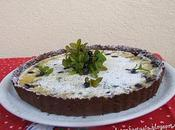 crostata mirtilli ricotta