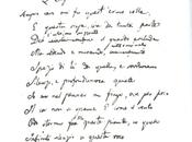 Grafologia: scrittura Giacomo Leopardi