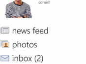 Aggiornata l'applicazione ufficiale Facebook Windows Phone.