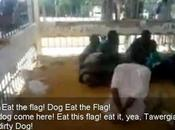 Tomina, Kararim Tawergha: città-fantasma pulizia etnica Rats force blacks Green Flag, into cage, like animals (Text Video)
