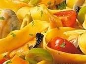 Fettuccine vongole, cozze olive verdi
