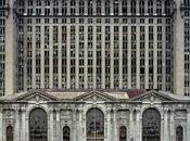 Teatri rovine Detroit: fotografie Marchand Meffre