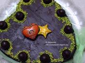 """Torta cuore glassata: spagna cacao, crema nocciola, cioccolato """"bacio"""""""