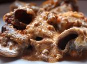Tiimballo rigatoni cacao ragu cervo.