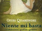"""Anteprima """"Niente basta"""" Giusi Quarenghi"""