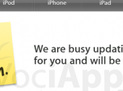 Apple store offline: Arriva nuovo iPad