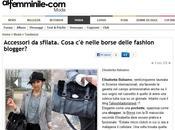 Sbirciamo nelle borse delle fashion blogger