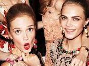 Jade Williams, Mary Charteris, Cara Delevigne Florrie Arnold Dolce Gabbana Harper's Bazaar