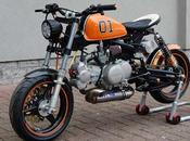 "Honda Monkey ""Dukes Hazzard"" T-Factorbikes"
