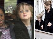 figlie Angelina Jolie divertono Olanda sfidano paparazzi..