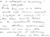 Grafologia: scrittura Federico Fellini