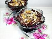 Coppa melanzane, cioccolato zenzero candito streusel mandorle amaretti MYCS Menù