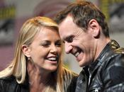 Charlize Theron parla delle parti intime Michael Fassbender