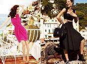 Mariacarla Boscono Models Alberta Ferretti Macy's
